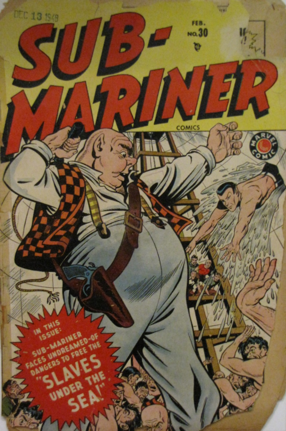Sub-Mariner Comics 30 Page 1