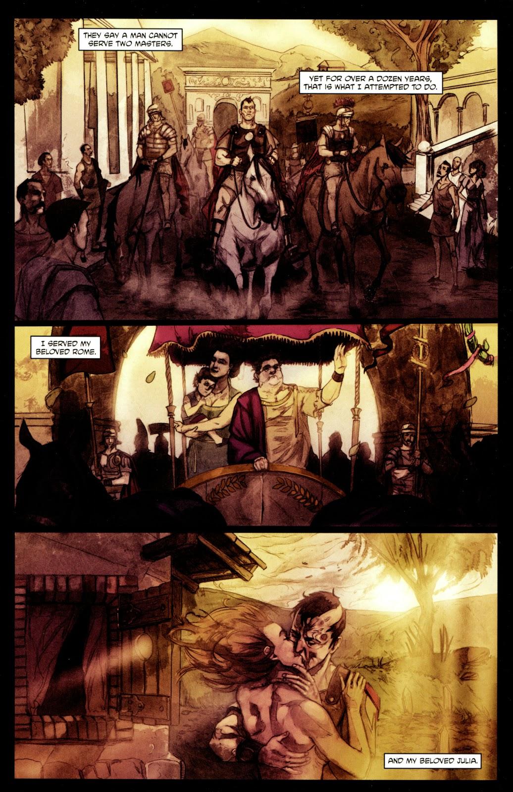 Caligula: Heart of Rome Issue #4 #4 - English 3