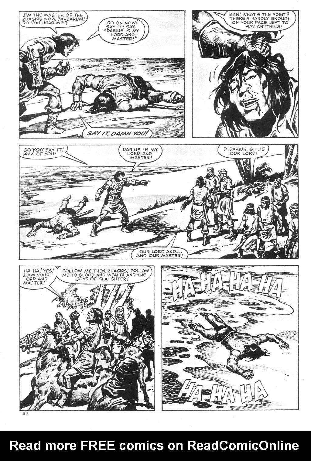 The Savage Sword Of Conan Issue #87 #88 - English 42