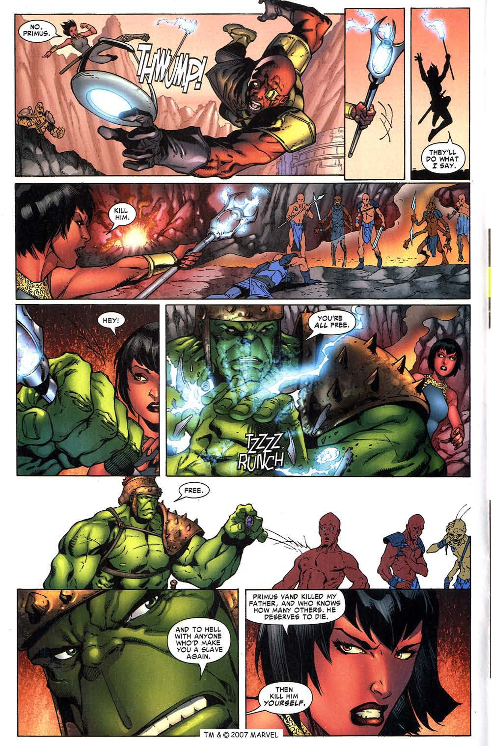 Read online The Incredible Hulk (2000) comic -  Issue #97 - 10