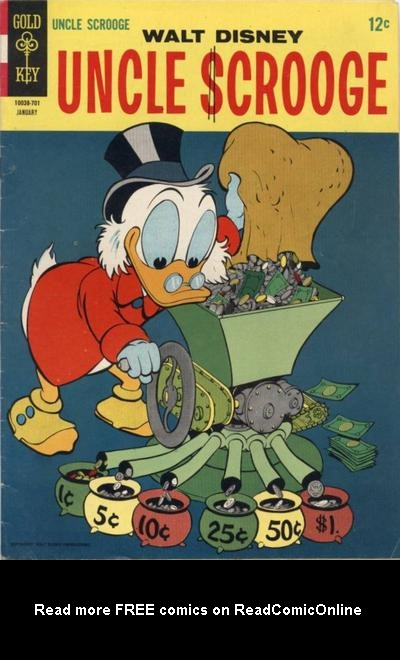 Uncle Scrooge (1953) Issue #67 #67 - English 1