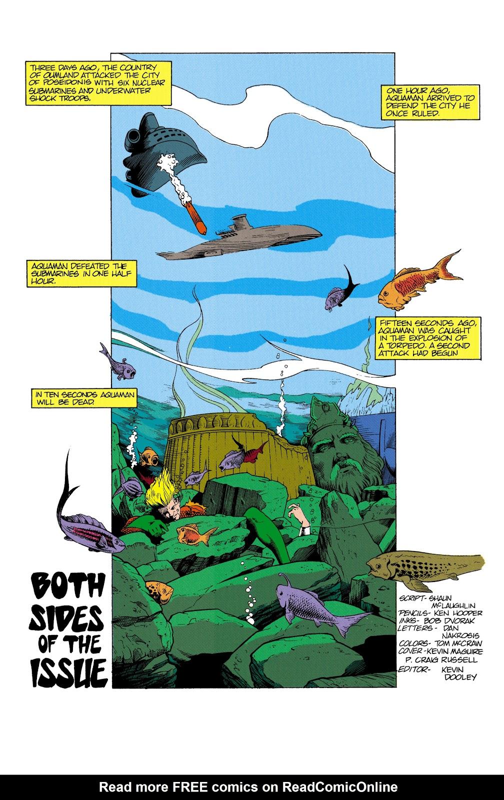 Aquaman (1991) Issue #2 #2 - English 2