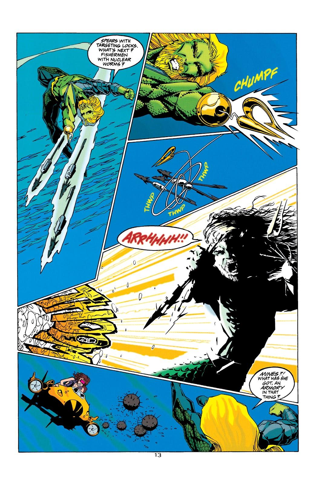 Aquaman (1994) Issue #32 #38 - English 13
