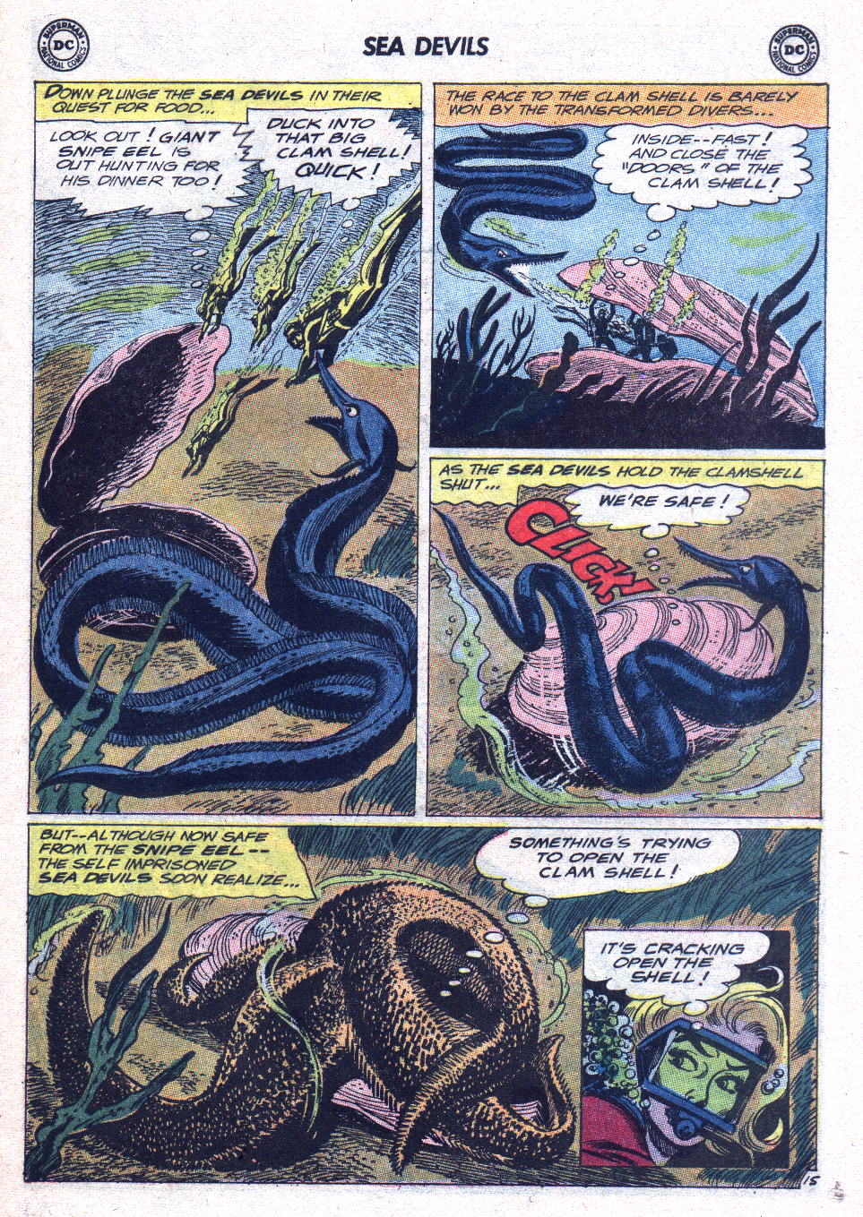 Read online Sea Devils comic -  Issue #15 - 20