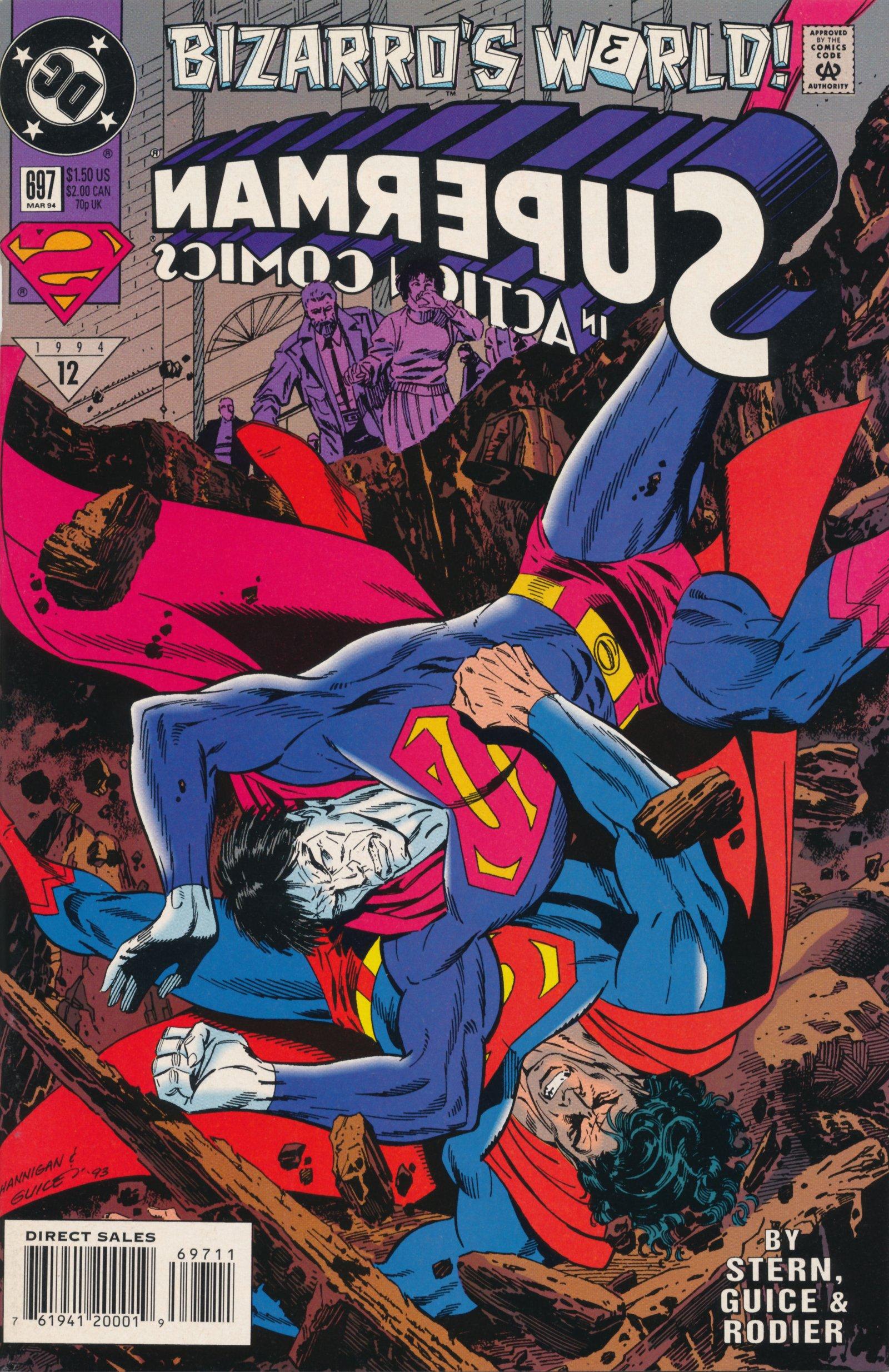 Action Comics (1938) 697 Page 1