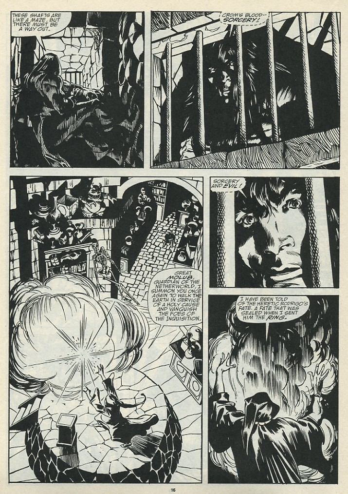 The Savage Sword Of Conan Issue #185 #186 - English 18