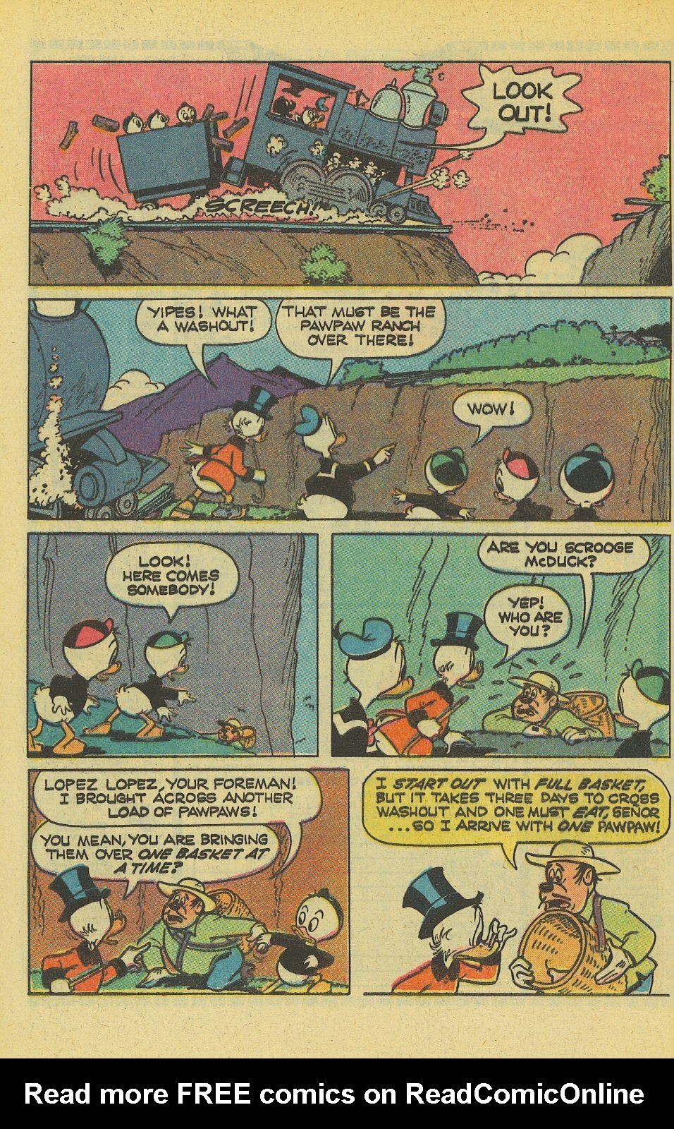 Uncle Scrooge (1953) Issue #163 #163 - English 8
