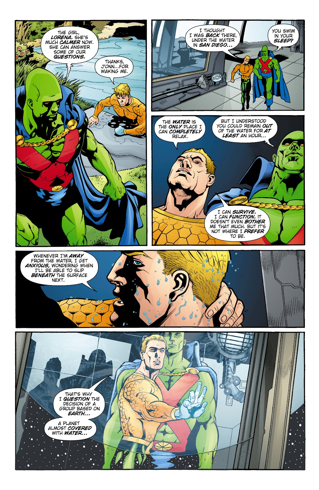 Aquaman (2003) Issue #16 #16 - English 14