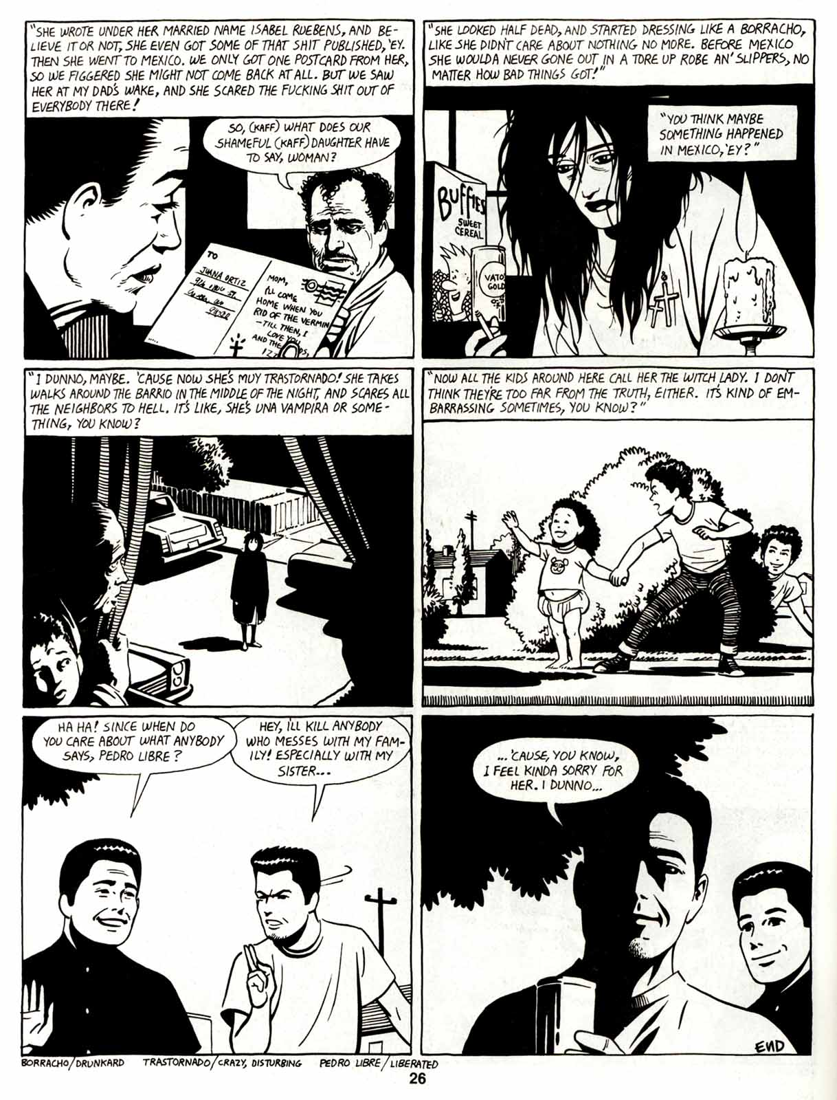 Love and Rockets (1982) Issue #7 #6 - English 28