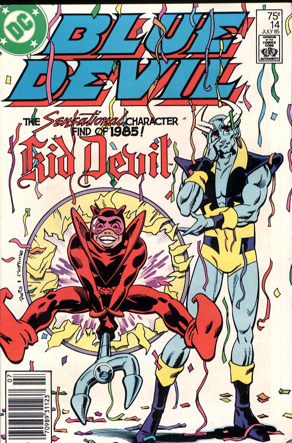 Blue Devil 14 Page 1