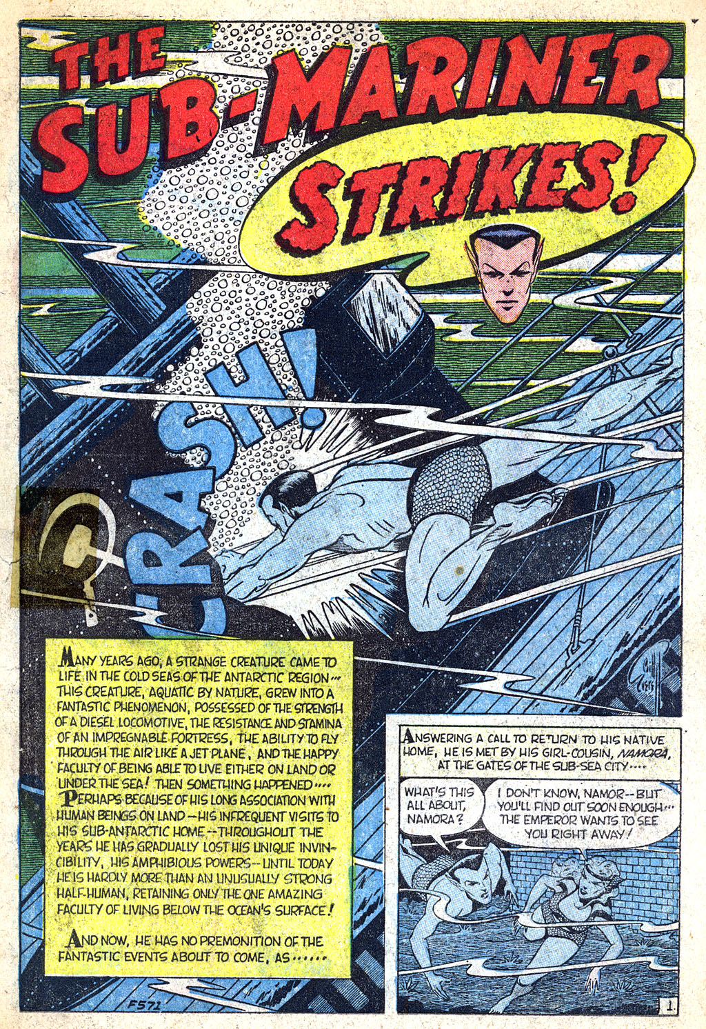 Sub-Mariner Comics #38 #38 - English 4