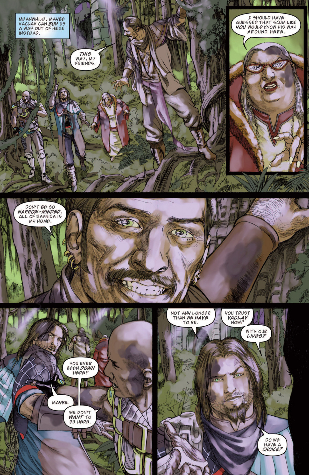 Read online Magic: The Gathering--Path of Vengeance comic -  Issue #3 - 13
