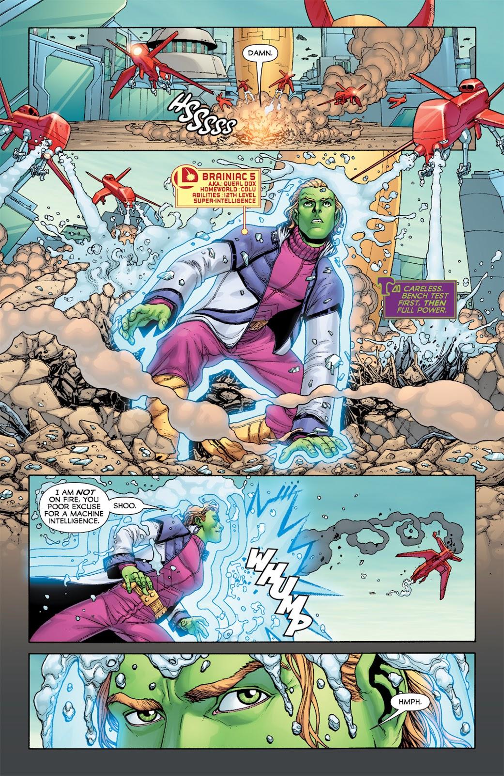 Legion of Super-Heroes (2010) Issue #7 #8 - English 22