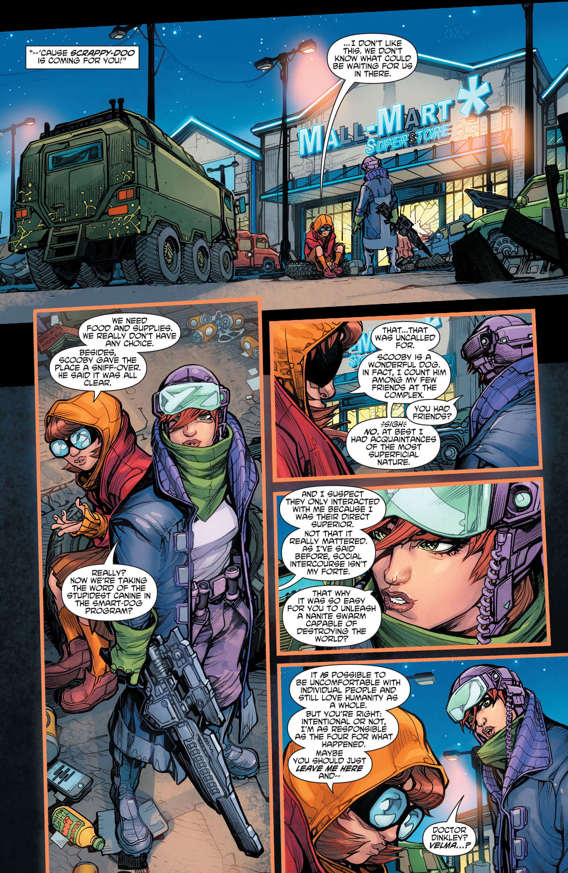 Read online Scooby Apocalypse comic -  Issue #4 - 19