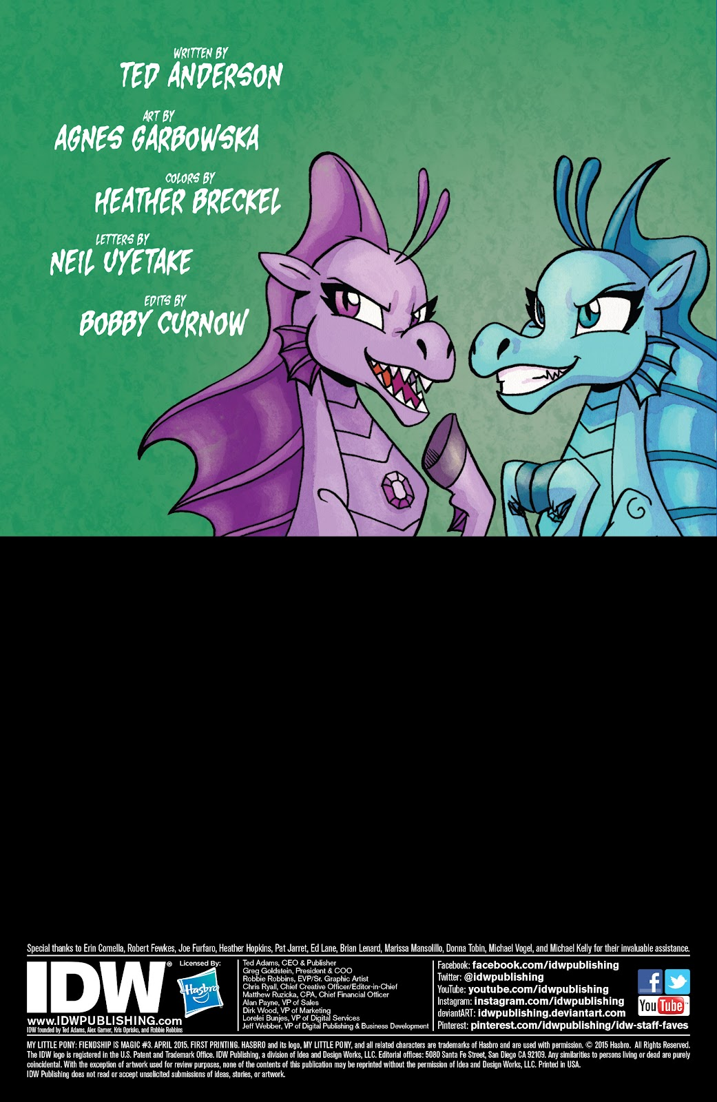 My Little Pony: Fiendship is Magic Issue #3 #3 - English 2