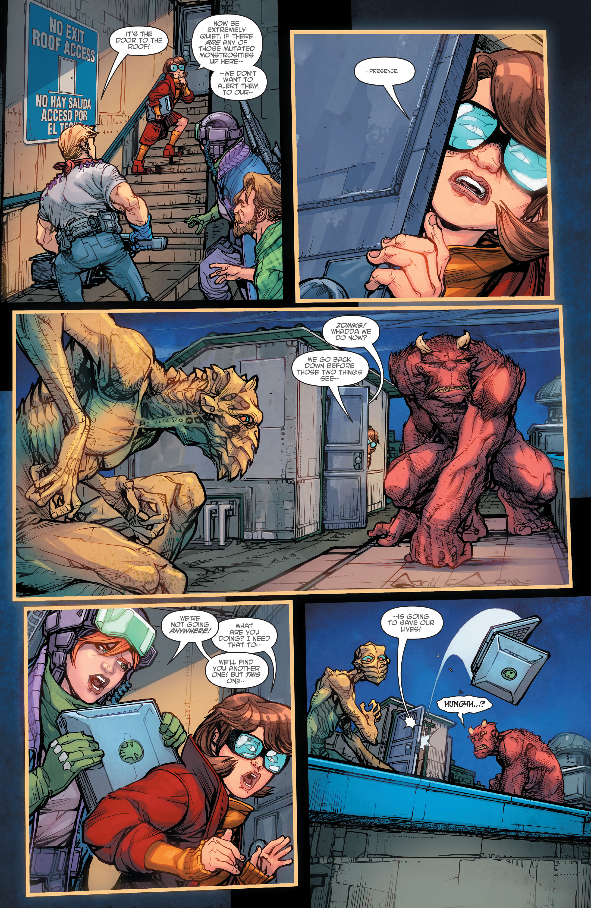 Read online Scooby Apocalypse comic -  Issue #7 - 7