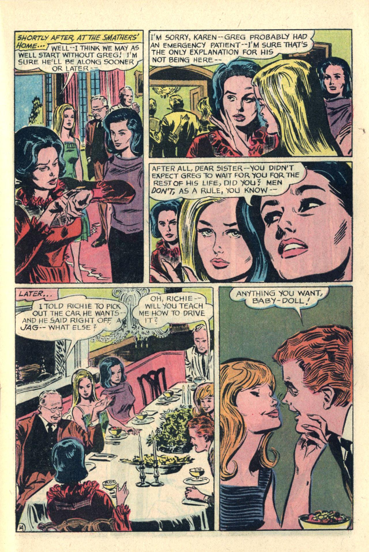 Read online Secret Hearts comic -  Issue #112 - 33