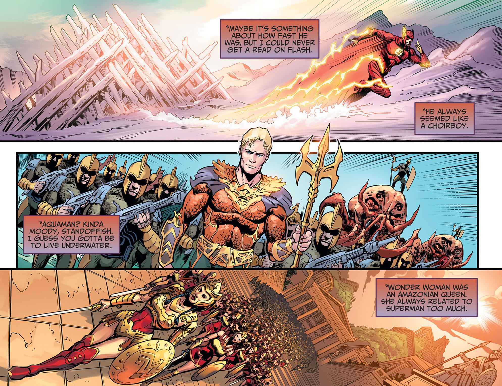 Read online Injustice: Ground Zero comic -  Issue #21 - 8