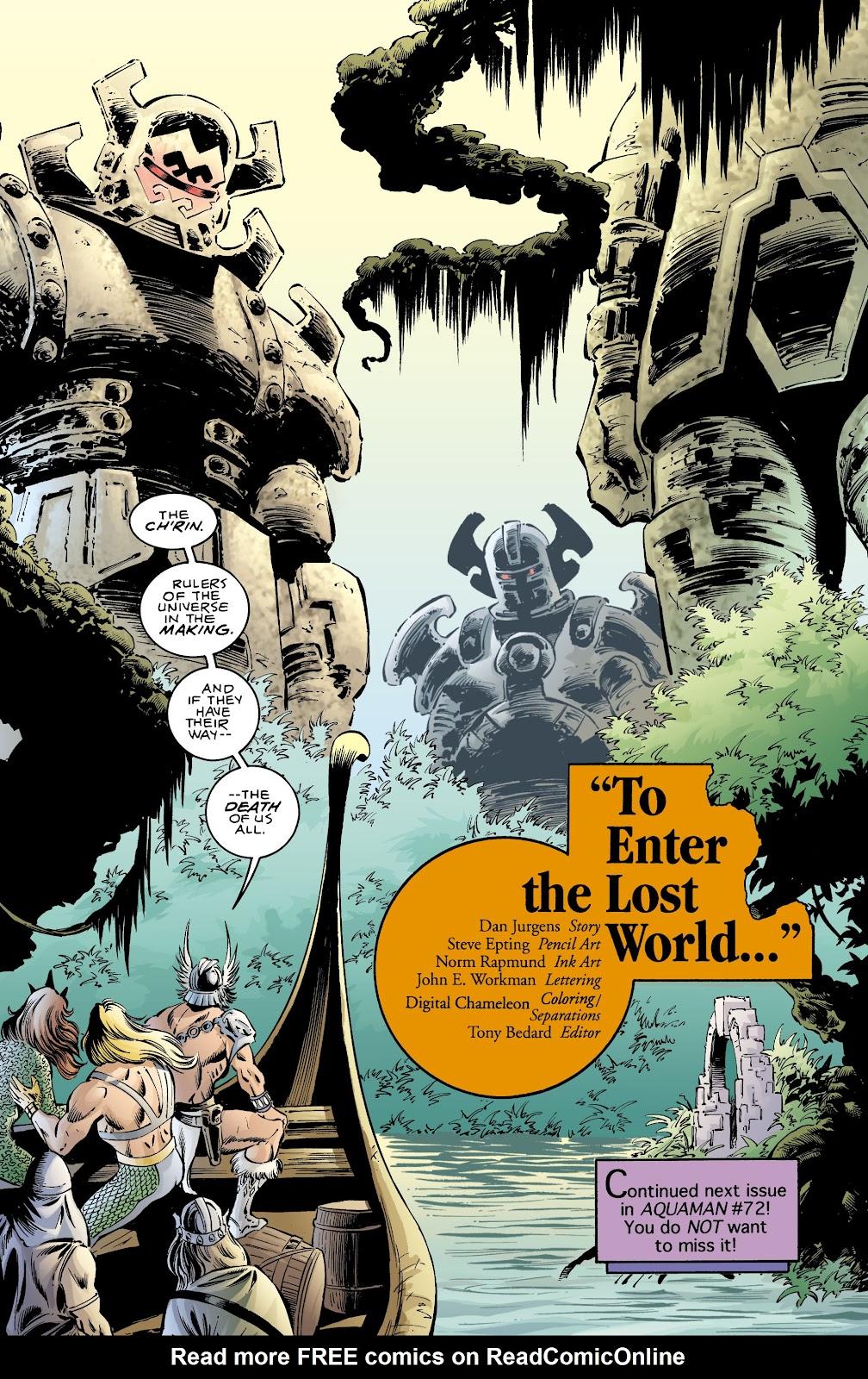 Aquaman (1994) Issue #71 #77 - English 22