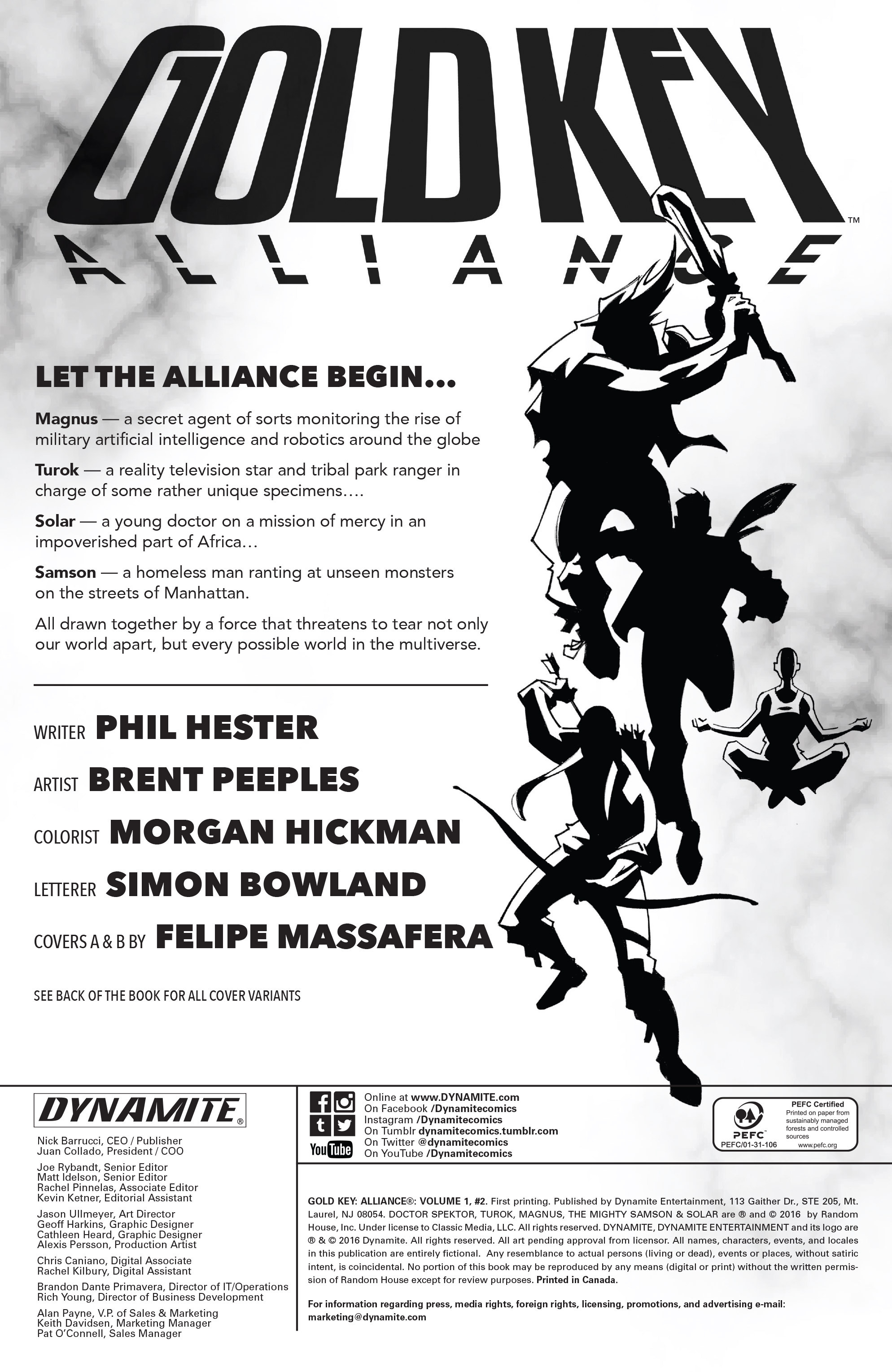 Read online Gold Key: Alliance comic -  Issue #2 - 2