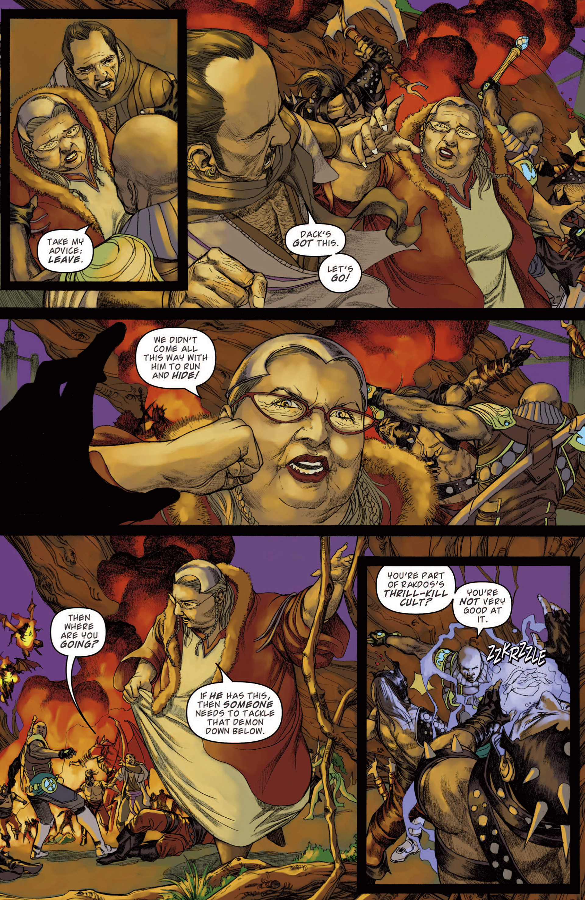 Read online Magic: The Gathering--Path of Vengeance comic -  Issue #4 - 8