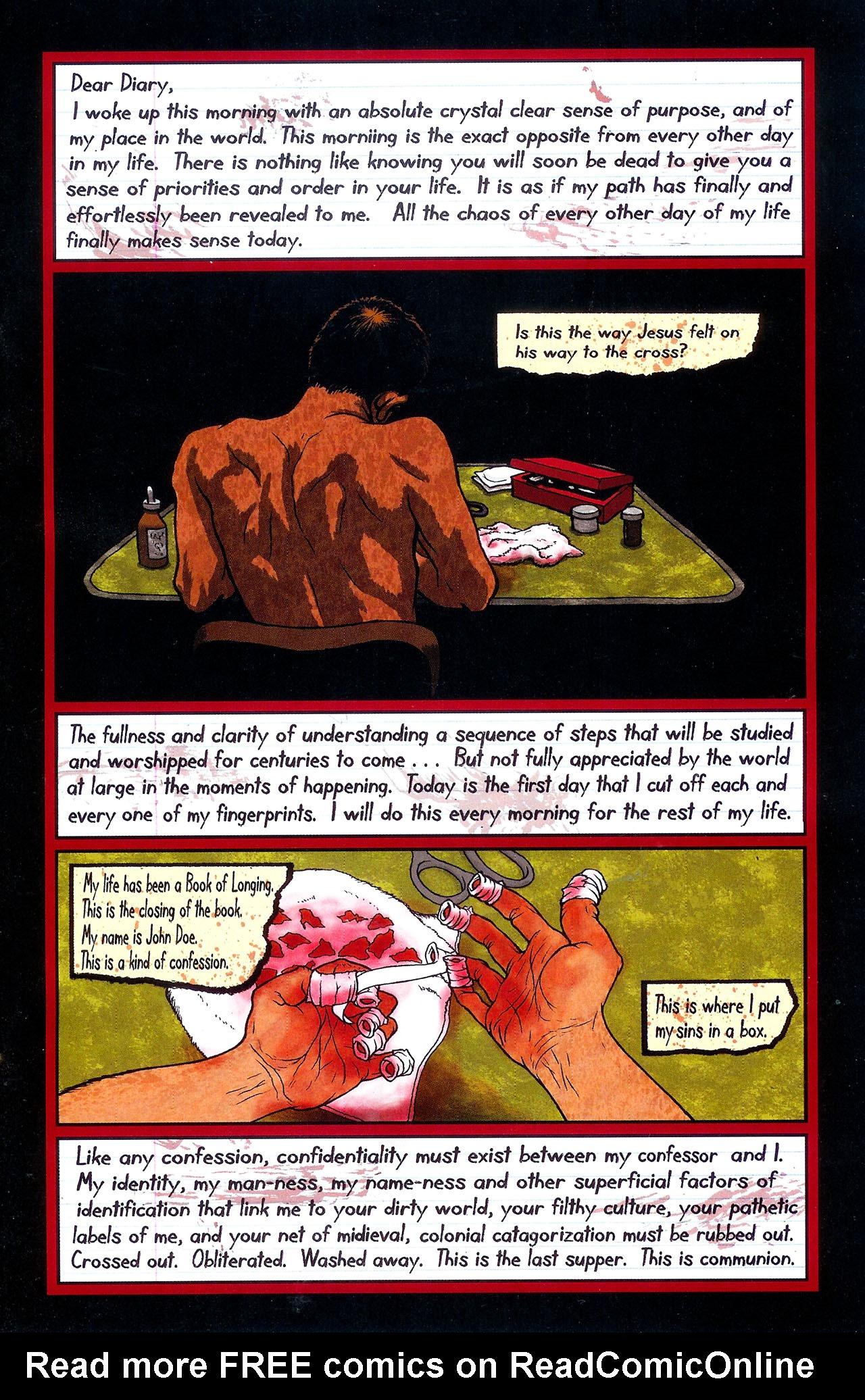 Read online Se7en comic -  Issue #6 - 5