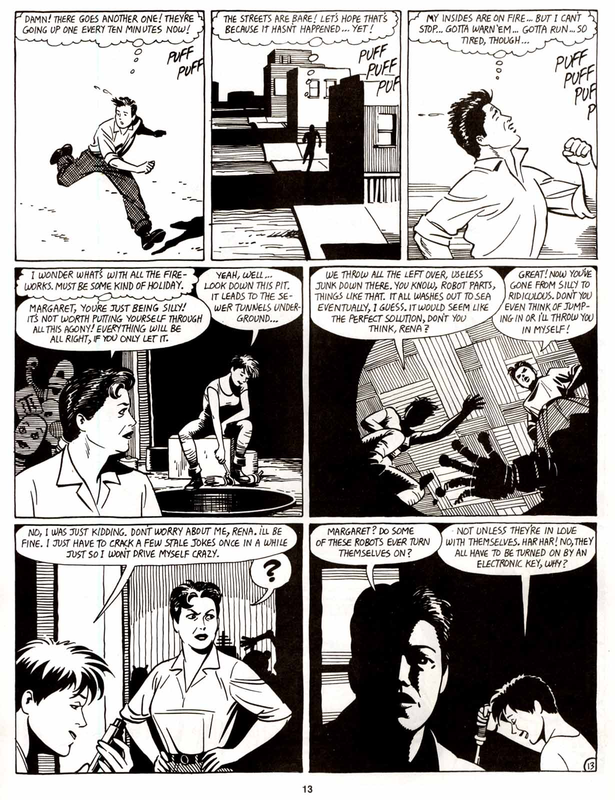 Love and Rockets (1982) Issue #8 #7 - English 15