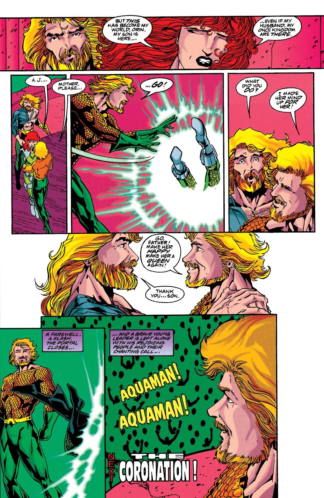 Aquaman (1994) Issue #48 #54 - English 22