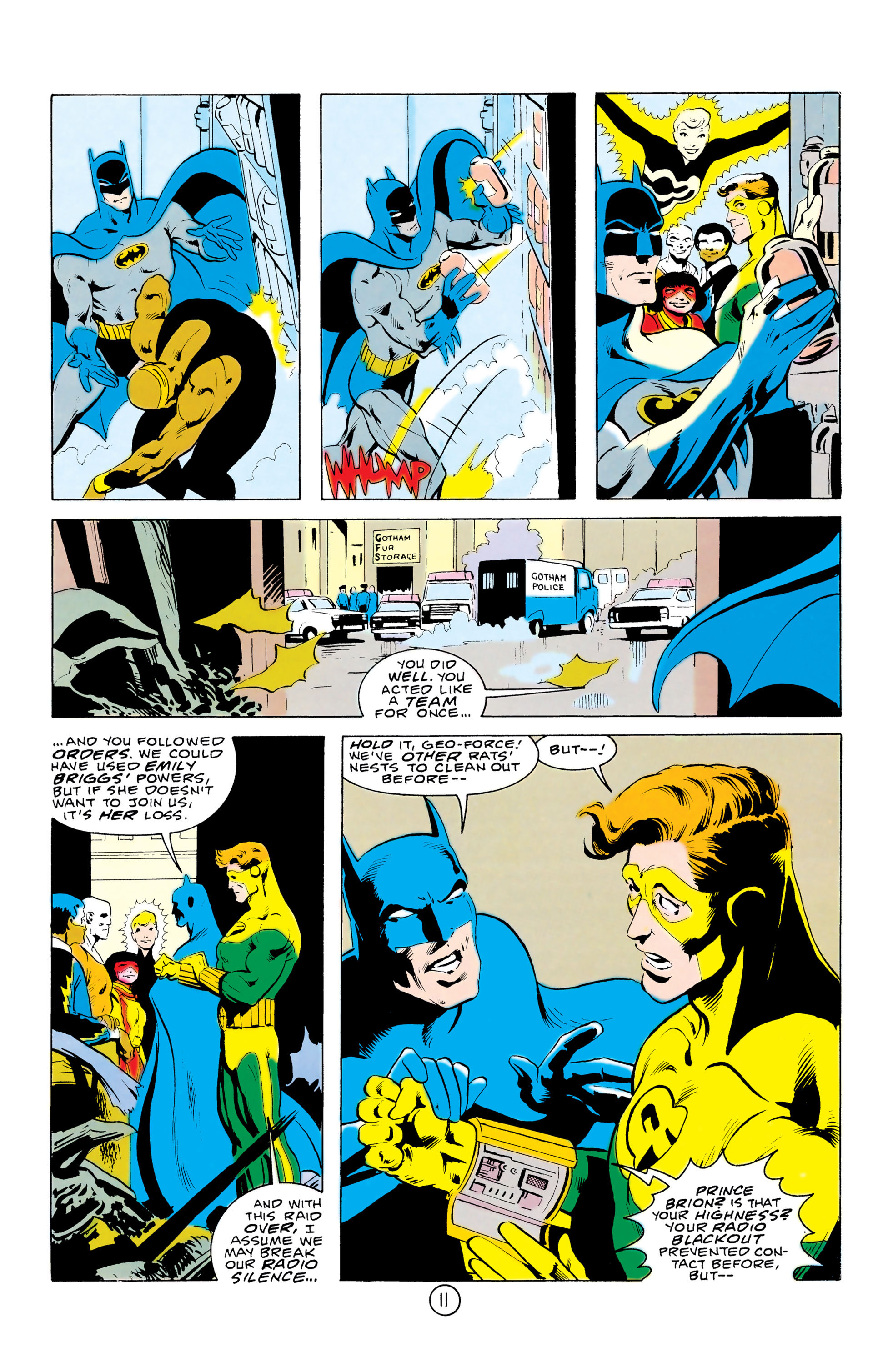 Batman and the Outsiders (1983) 32 Page 11