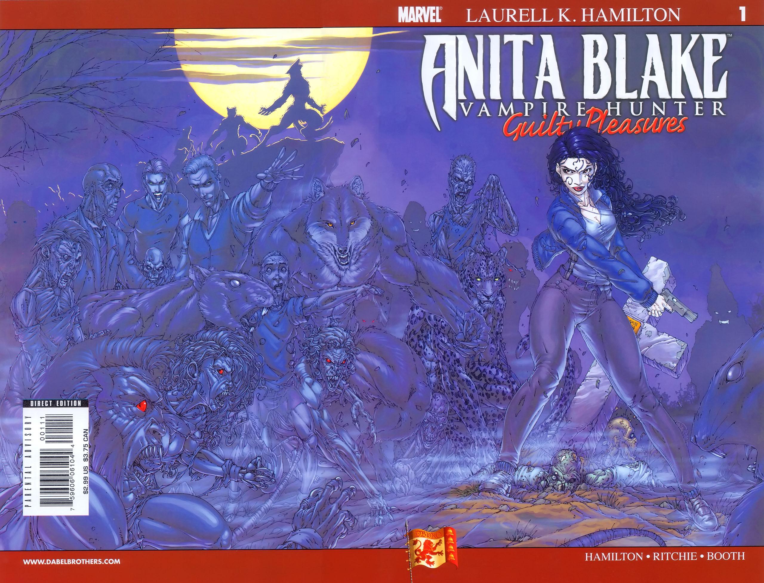 Anita Blake, Vampire Hunter: Guilty Pleasures 1 Page 1