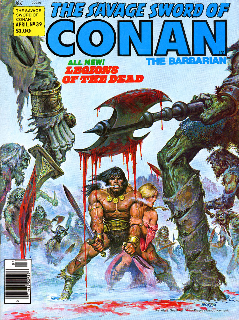 The Savage Sword Of Conan Issue #39 #40 - English 1