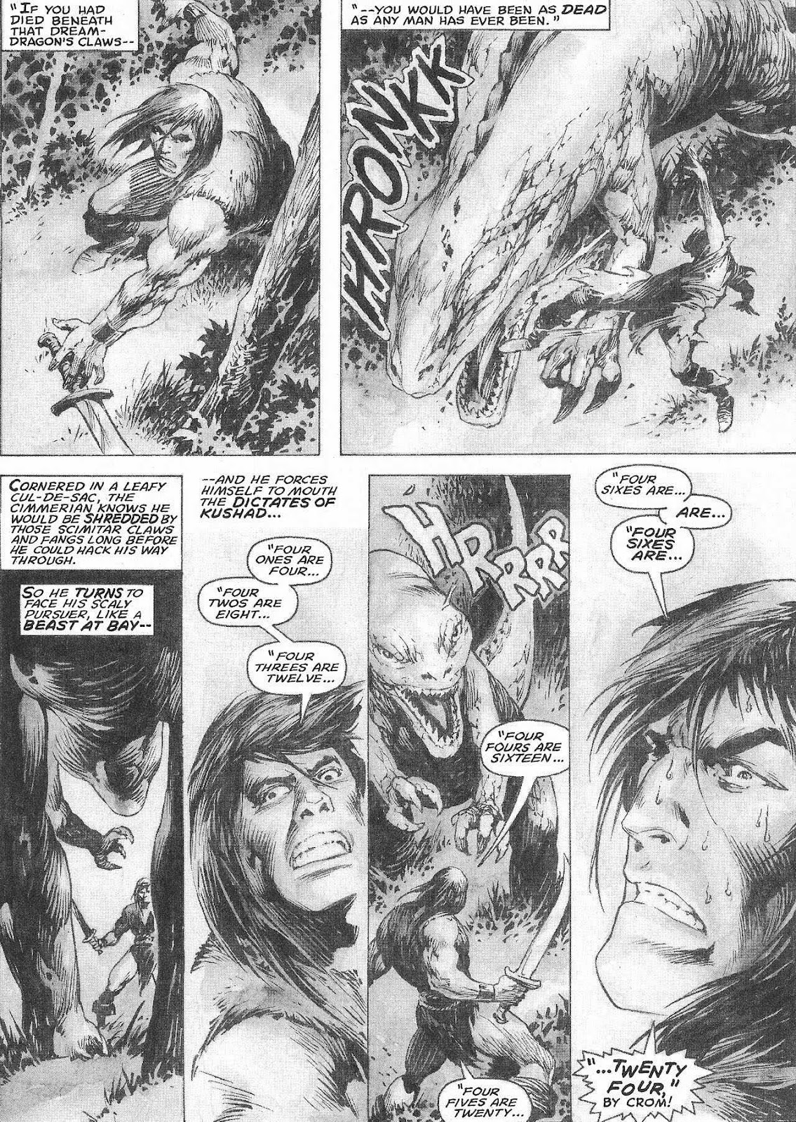 The Savage Sword Of Conan Issue #207 #208 - English 50