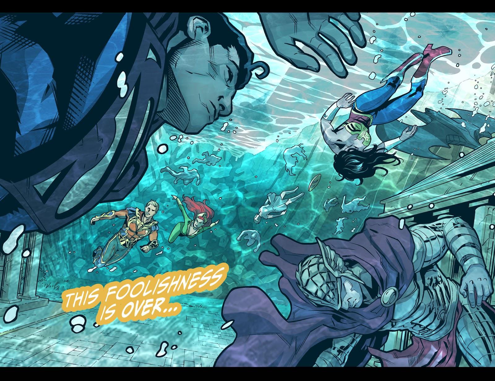 Injustice: Gods Among Us Year Four Issue #20 #21 - English 15
