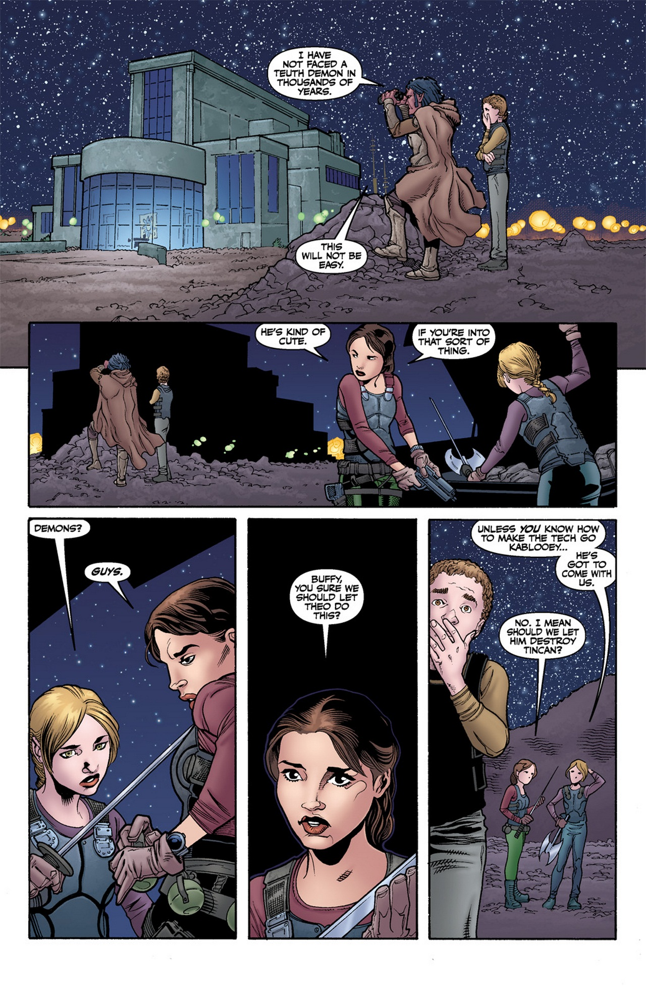 Read online Buffy the Vampire Slayer Season Nine comic -  Issue #12 - 13