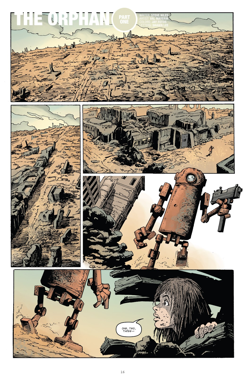 Zombies vs Robots (2015) Issue #1 Page 16