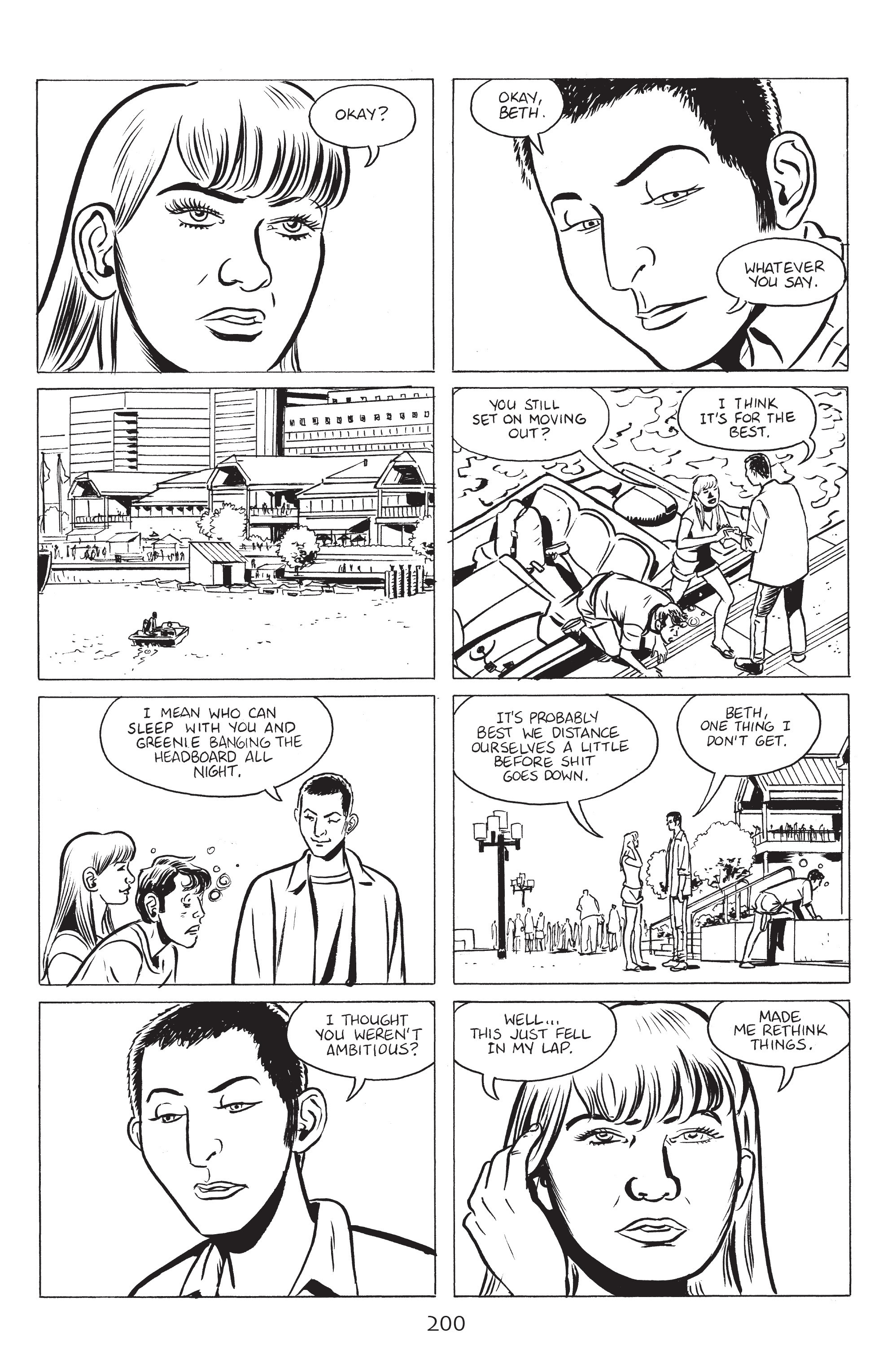 Read online Stray Bullets: Sunshine & Roses comic -  Issue #8 - 6