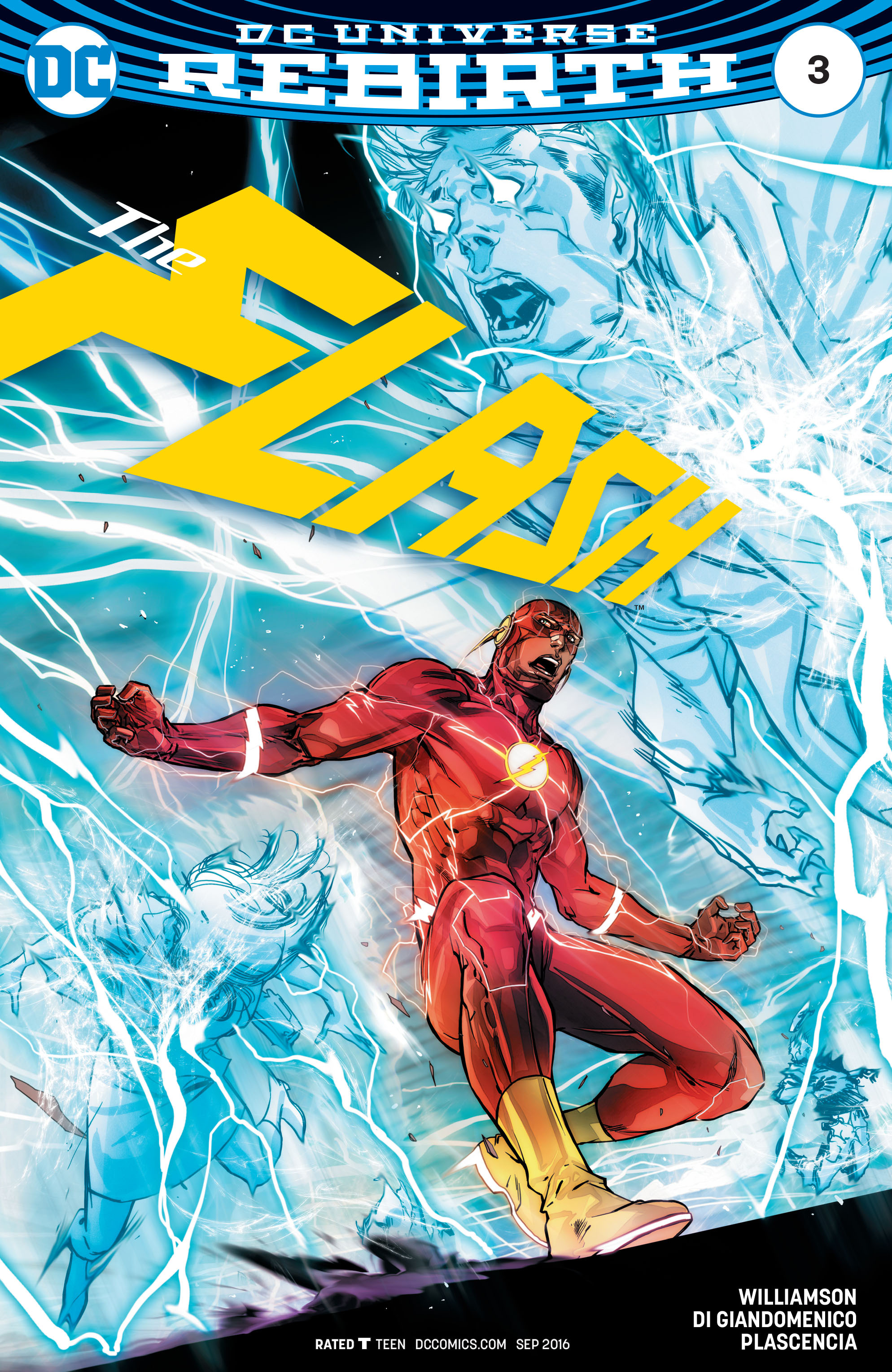 The Flash (2016) issue 3 - Page 1