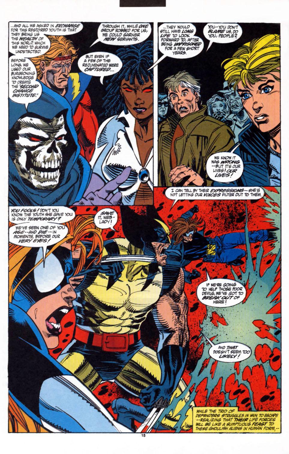 Read online Secret Defenders comic -  Issue #3 - 12
