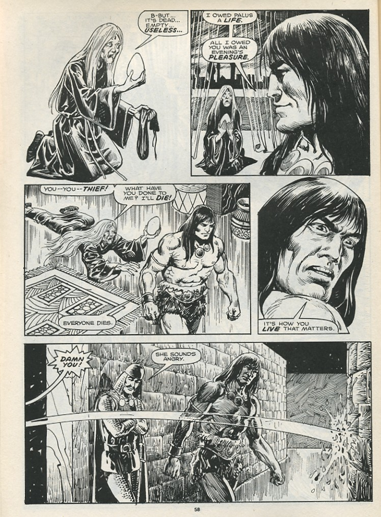 The Savage Sword Of Conan Issue #174 #175 - English 60