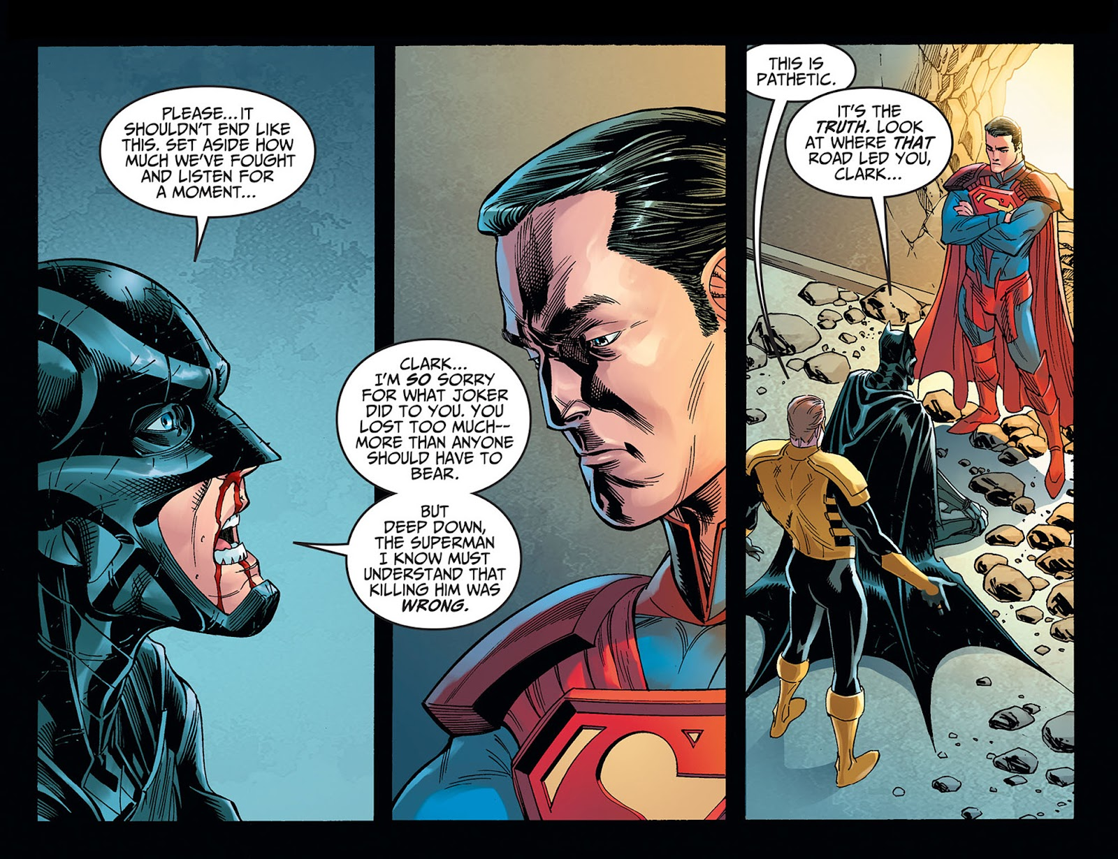 Injustice: Gods Among Us: Year Five Issue #40 #41 - English 7