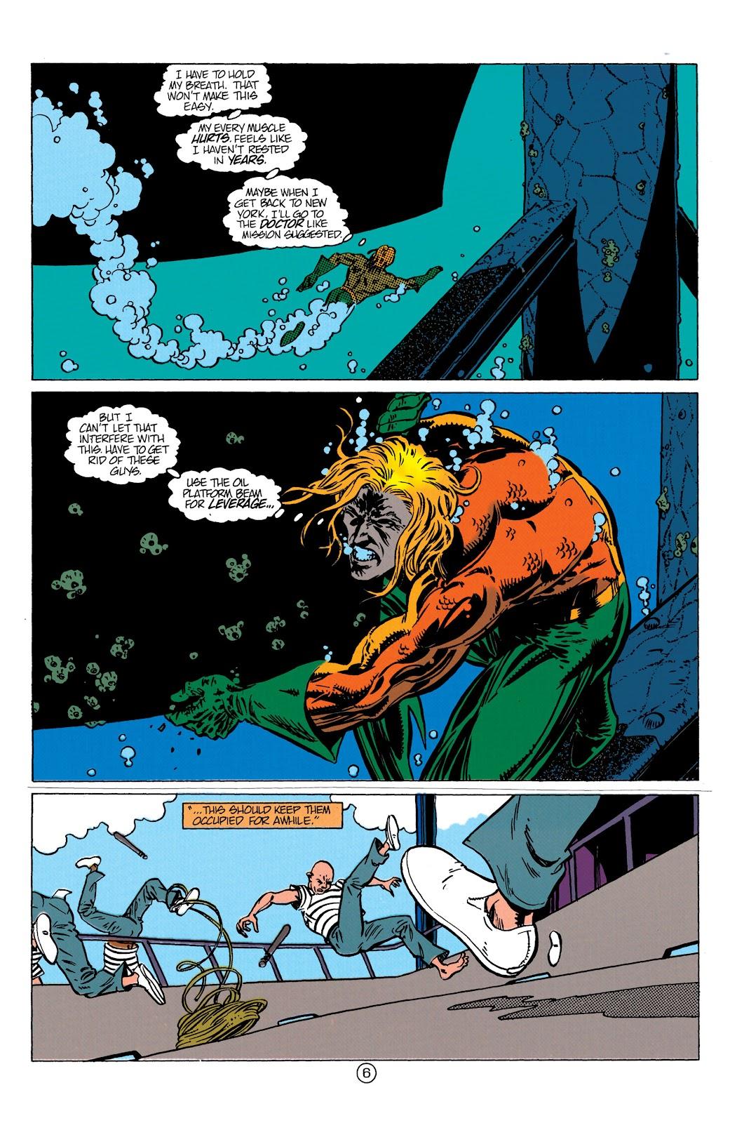 Aquaman (1991) Issue #10 #10 - English 7