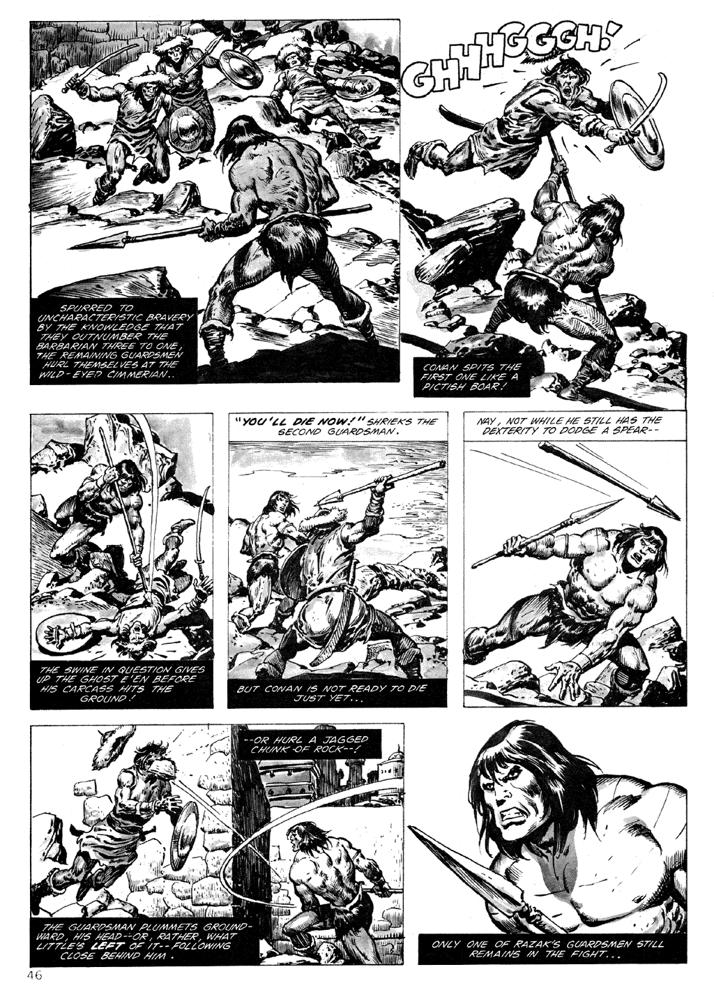 The Savage Sword Of Conan Issue #71 #72 - English 46
