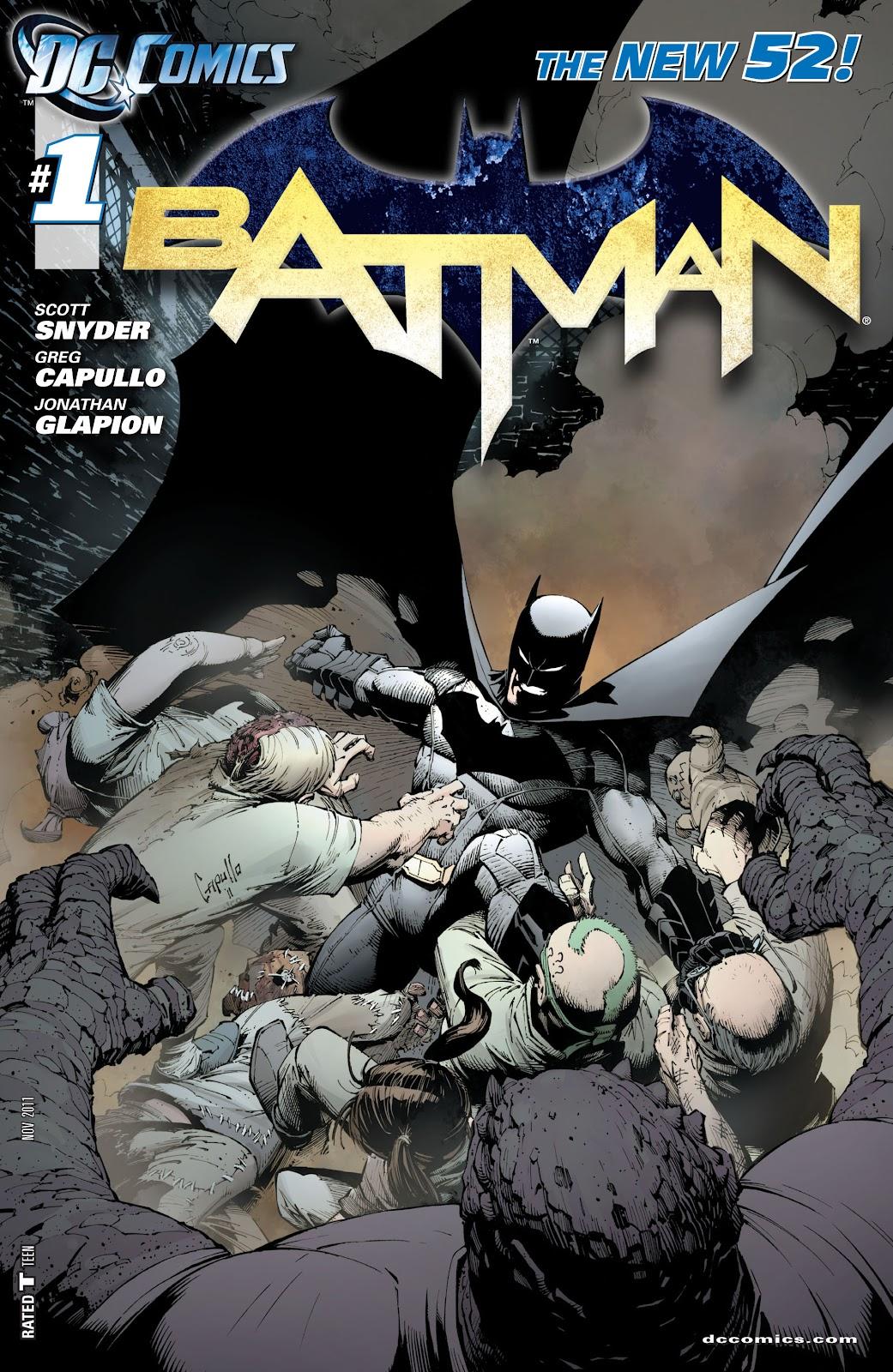 Batman (2011) Issue #1 #16 - English 1