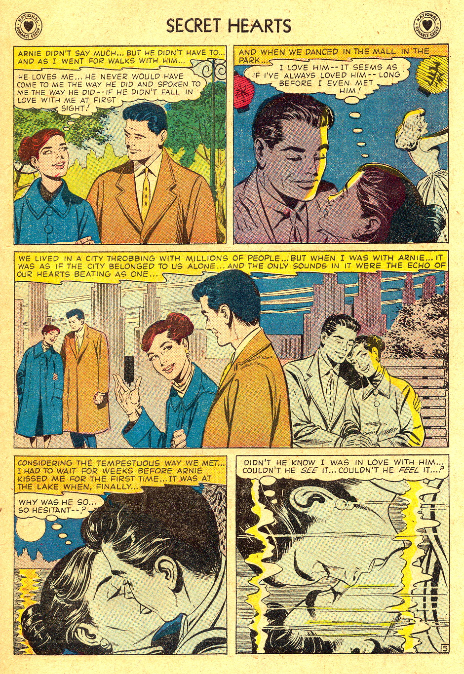Read online Secret Hearts comic -  Issue #45 - 31