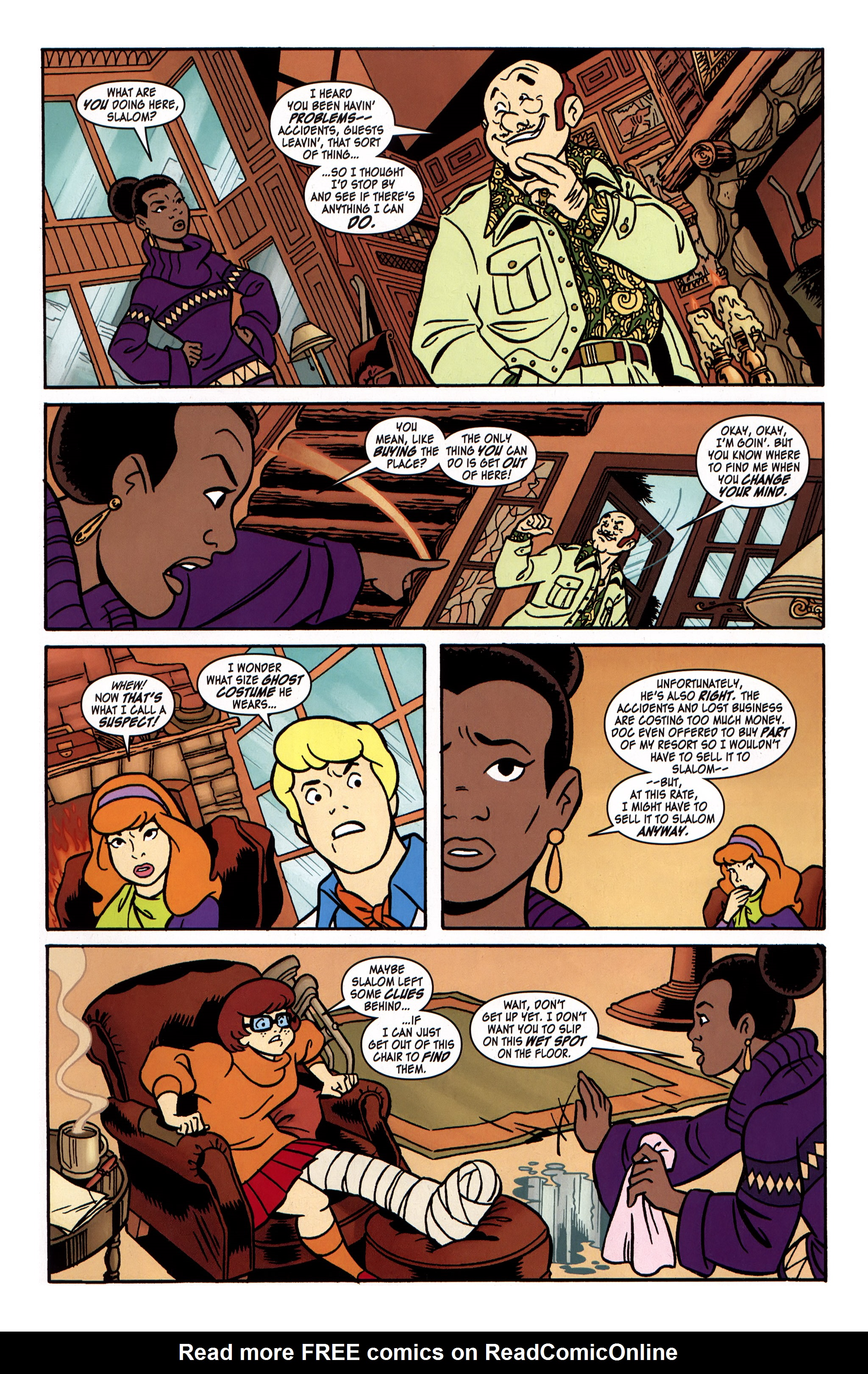 Read online Scooby-Doo: Where Are You? comic -  Issue #31 - 9