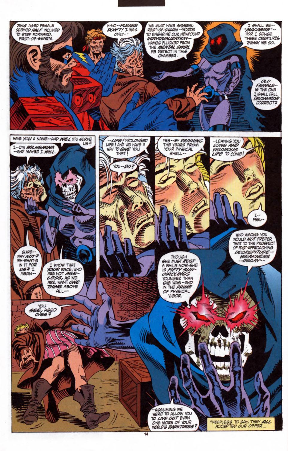 Read online Secret Defenders comic -  Issue #3 - 11