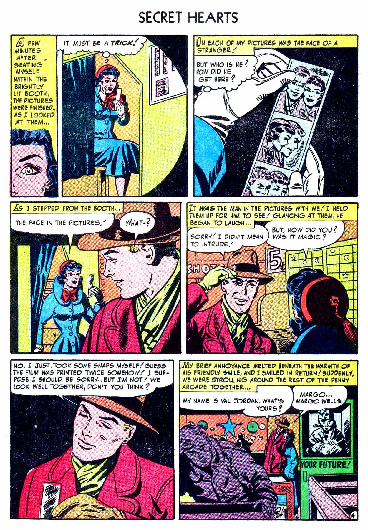 Read online Secret Hearts comic -  Issue #8 - 6