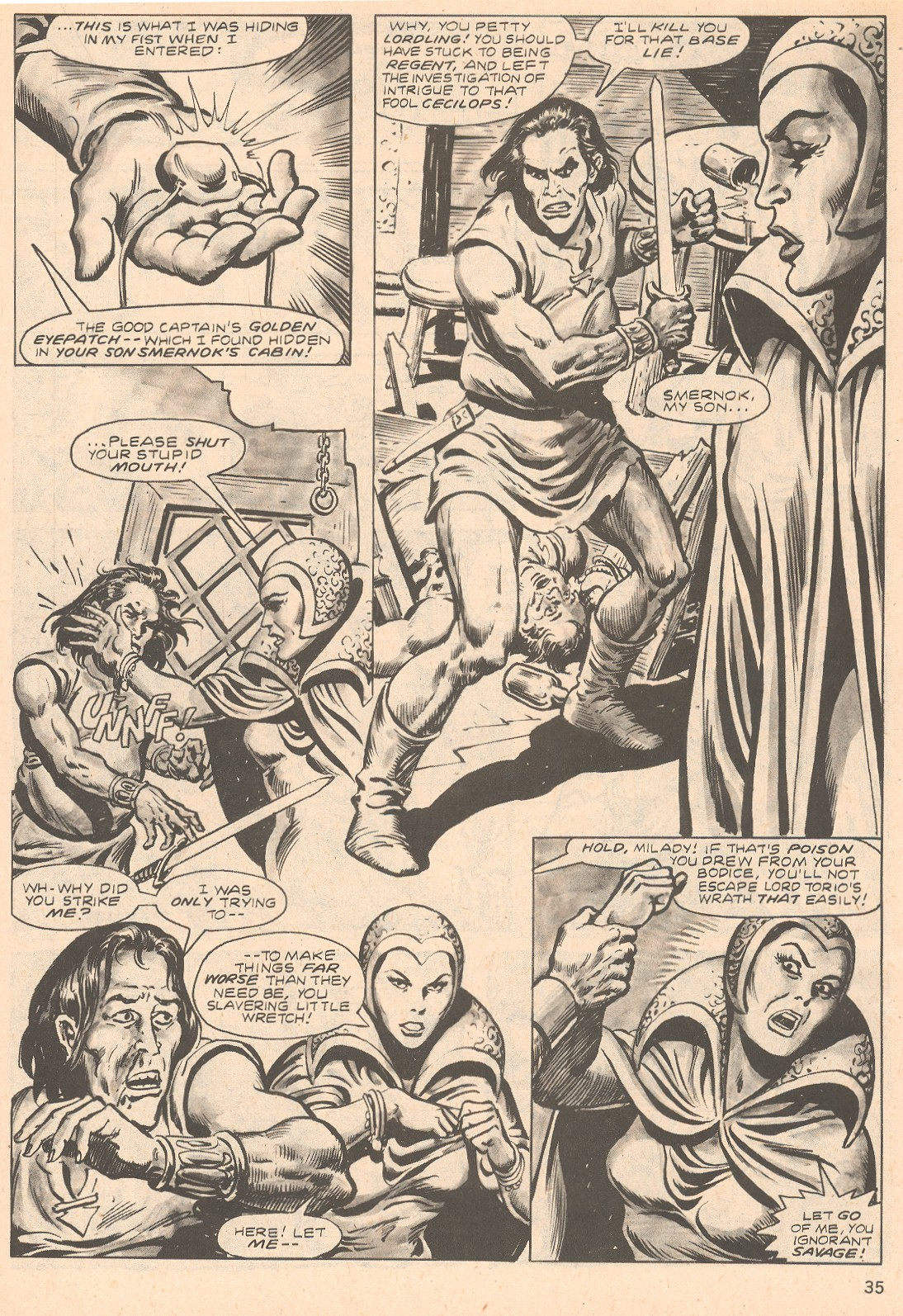 The Savage Sword Of Conan Issue #66 #67 - English 35