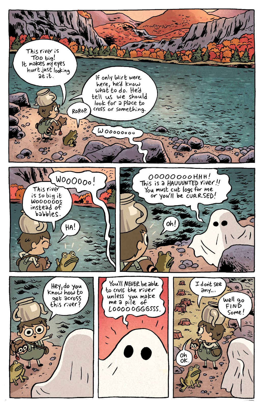 Over the Garden Wall (2016) Issue #4 #4 - English 3