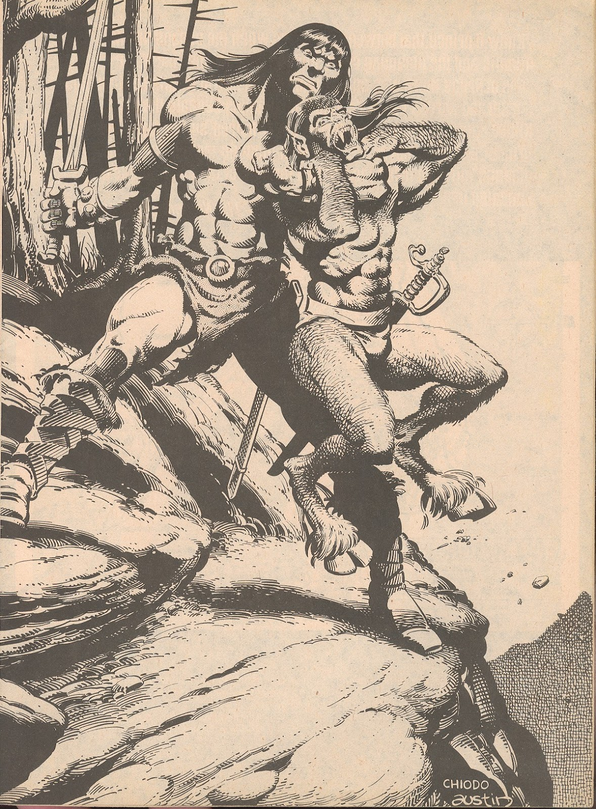 The Savage Sword Of Conan Issue #65 #66 - English 3